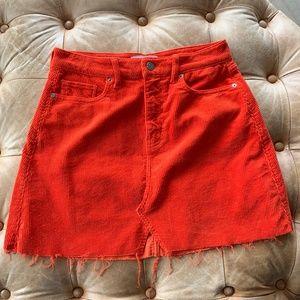 ética Lucy Corduroy Mini Skirt